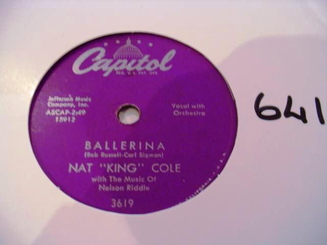 NAT KING COLE - CAPITOL 3619 - 641