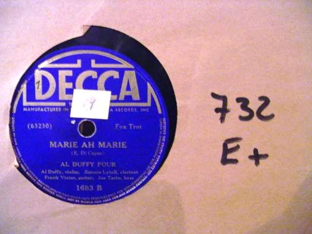 AL DUFFY FOUR - DECCA 1683 [ 732