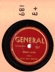 JELLY ROLL MORTON - Mamie's Blues - GENERAL 4001