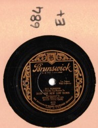 BILL ROBINSON - Tap Dancer - BRUNSWICK 4535