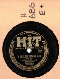 HARRY JAMES - A million dreams ago - HIT 7065