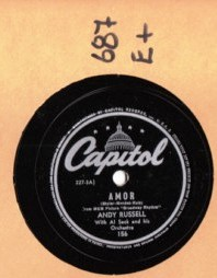 ANDY RUSSELL - Amor - CAPITOL 156