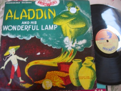 ALADDIN & HIS WONDERFUL LAMP - JUNIOR J 100 { 104