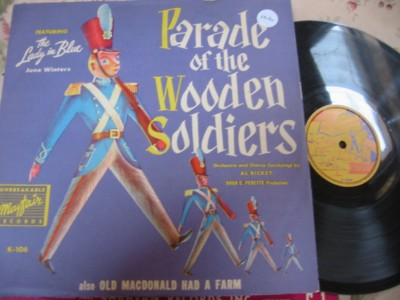 PARADE OF WODDEN SOLDIERS - MAYFAIR RECORDS K 106 { 106