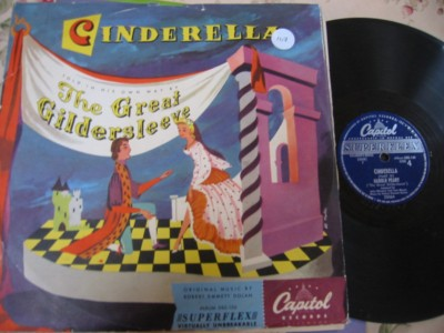 CINDERELLA - THE GREAT GILDERSLEEVE - CAPITOL DBS 130 { 107