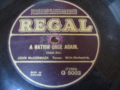 JOHN McCORMACK - A NATION ONCE AGAIN - REGAL { 130