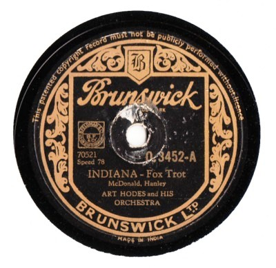Art Hodes - Indiana - Brunswick - Made in India