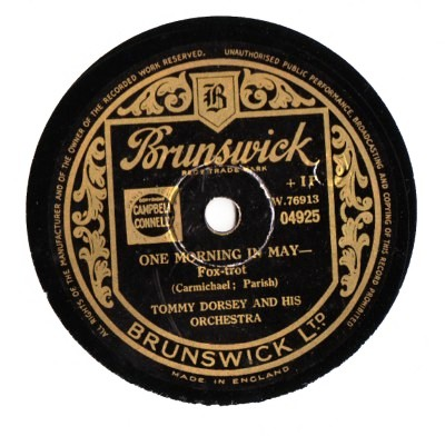 Tommy Dorsey - One morning in May - Brunswick UK