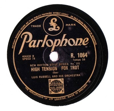 Luis Russell - High Tension - Parlophone UK