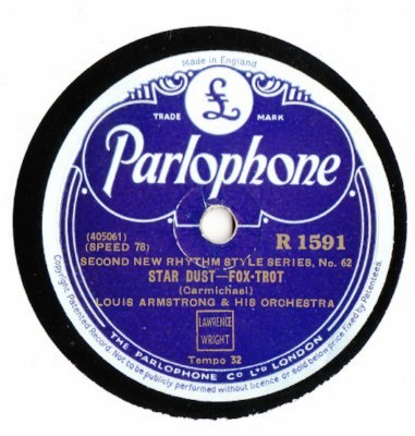 Louis Armstrong - Star Dust - Parlophone UK