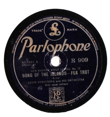 Louis Armstrong - Confessin' - Parlophone UK