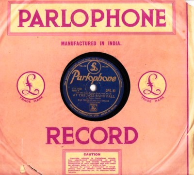 Bud Freeman - After a while - Parlophone Made in India