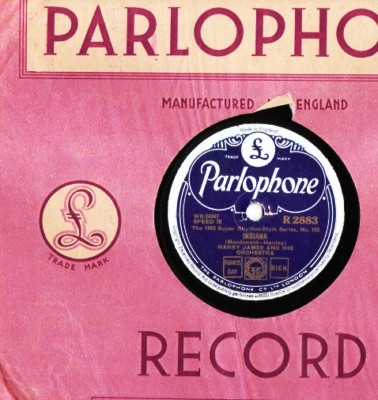 Harry James - Indiana - Parlophone UK
