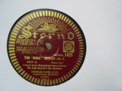 Charlie Kunz - Kunz Medley No.6 - Sterno Records 1421 UK