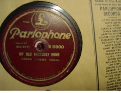 Grand Cinema Organ - Parlophone E. 5900 UK