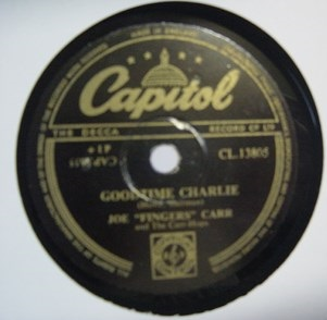 Joe Fingers Carr - Goodtime Charlie - Capitol CL13805 UK