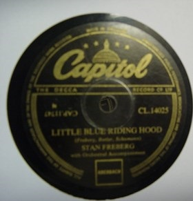 Stan Freberg - Little Blue Riding Hood - Capitol CL14025 UK