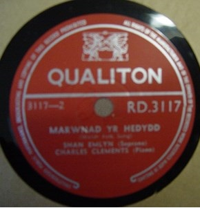 Shan Emlyn - Hiraith - Welsh Folk Song - Qualiton RD 3117