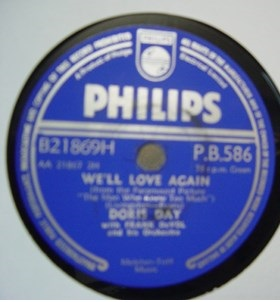 Doris Day - Whatever will be will be - Philips PB 586 UK