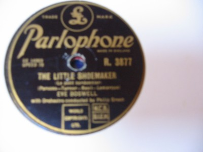 Eve Boswell - Little Shoemaker - Parlophone UK