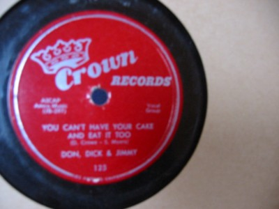 DON DICK & JIMMY - THATS WHAT I LIKE - CROWN 125 { 71