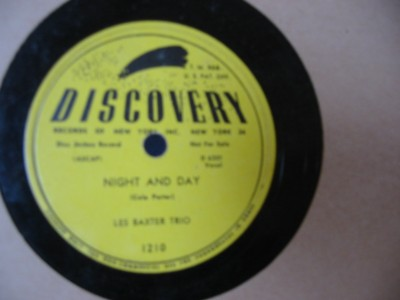 LES BAXTER TRIO - NIGHT & DAY - DISCOVERY 1210 { 72