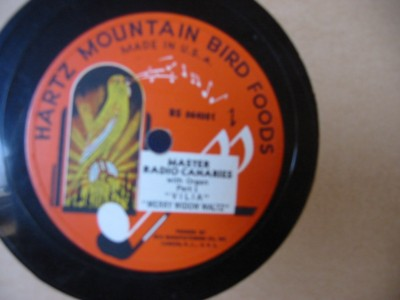 MASTER RADIO CANARIES - HARTZ MOUNTAIN { 77