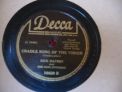 DICK HAYMES - FIRST NOWELL - DECCA 18629 { 83