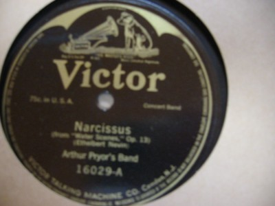 ARTHUR PRYOR - NARCISSUS - VICTOR 16029 { 90