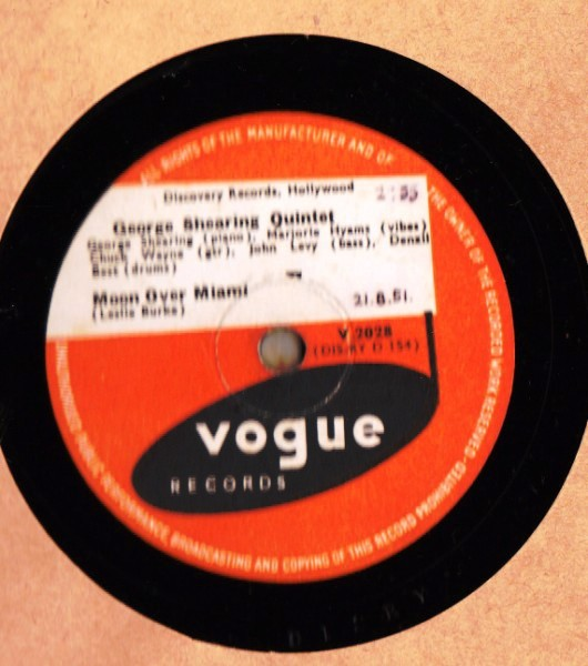 George Shearing Quintet - Moon Over Miami - Vogue UK