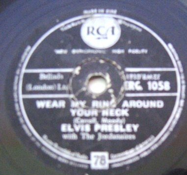ELVIS PRESLEY - DON'CHA THINK ITS TIME - RCA IRISH PRESS