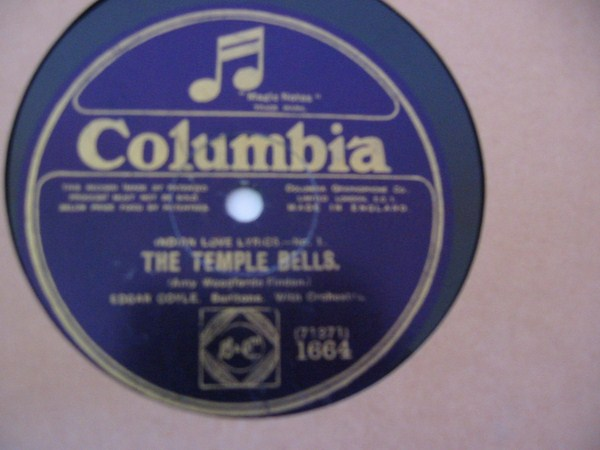 EDGAR COYLE - THE TEMPLE BELLS - COLUMBIA 1664