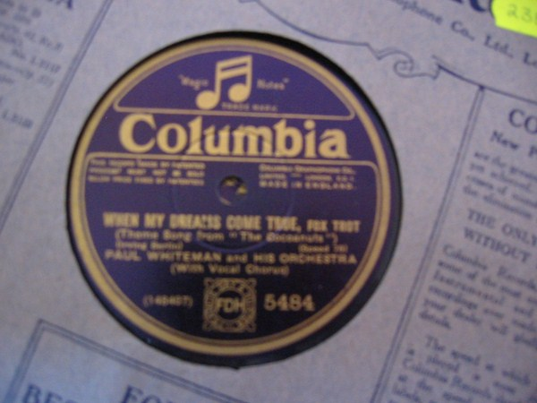 PAUL WHITEMAN - COLUMBIA 5484