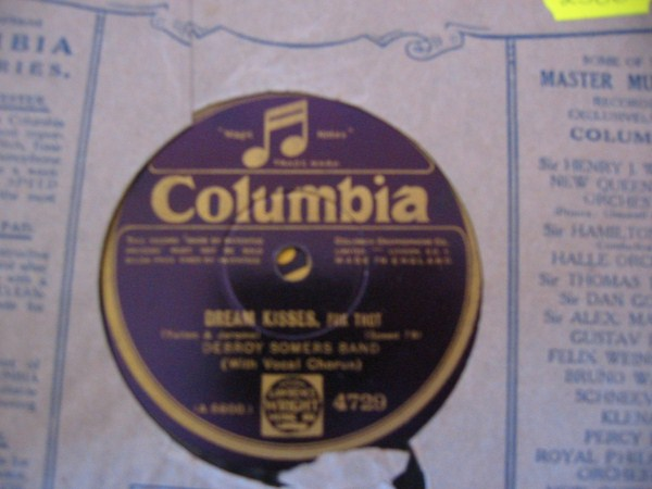DEBROY SOMERS BAND - COLUMBIA 4729