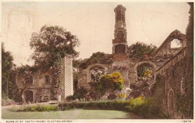 Clacton on Sea - Ruins of St Osyth Priory
