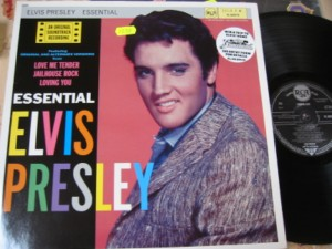 ELVIS PRESLEY - ESSENTIAL - RCA GERMAN AF 1537