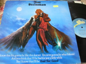 JIM STEINMAN - BAD FOR GOOD - EPIC - IRISH PRESS