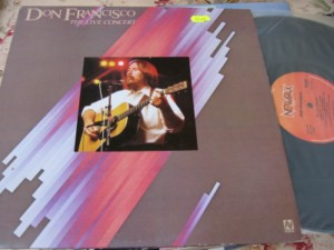 DON FRANCISCO - THE LIVE CONCERT = 2LP NEWPAX