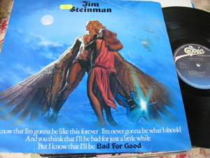 JIM STEINMAN - BAD FOR GOOD - EPIC - SPANISH PRESS