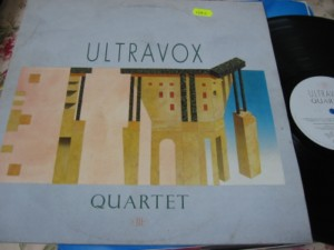ULTRAVOX - QUARTET - CHRYSALIS 1982