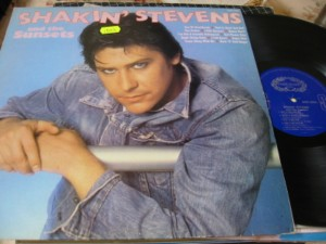 SHAKIN STEVENS & THE SUNSETS - SELF TITLE - HALLMARK