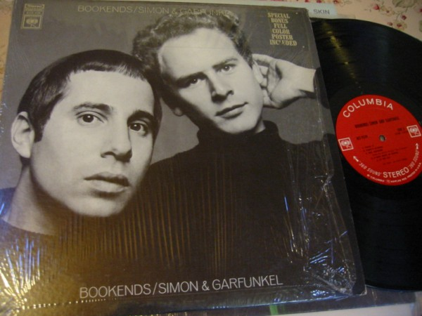 SIMON & GARFUNKEL - BOOKENDS - POSTER SHRINK Columbia