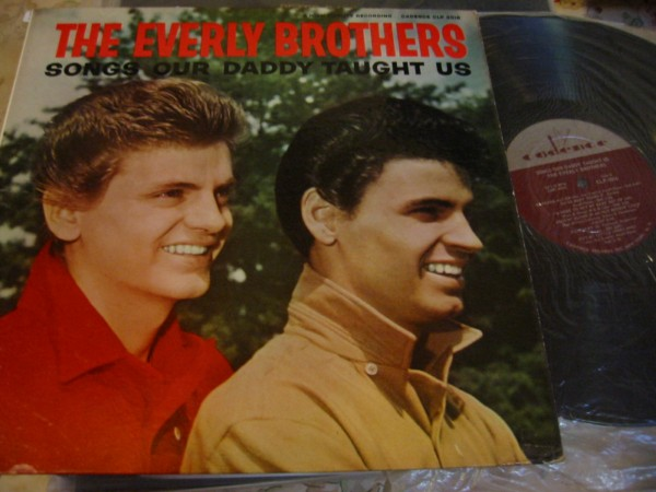 EVERLY BROTHERS - SONGS DADDY THAUGHT - CADENCE N MINT