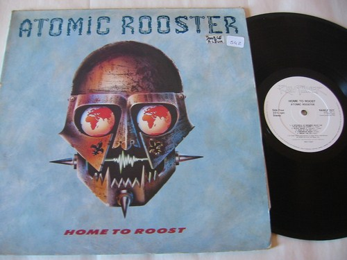 ATOMIC ROOSTER - HOME TO ROOST - RAW POWER { AF 542