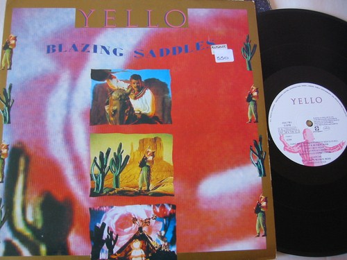 YELLO - BLAZING SADDLES - MERCURY { AF 550