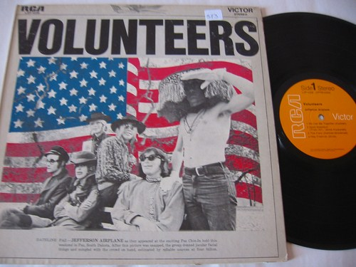 JEFFERSON AIRPLANE - VOLUNTEERS - RCA { AF 573