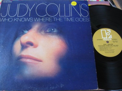 JUDY COLLINS - WHO KNOWS W TIME GOES - ELEKTRA { AF 978