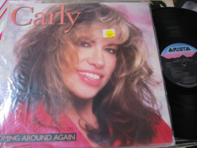 CARLY SIMON - COMING AROUND AGAIN - ARISTA { AF 981