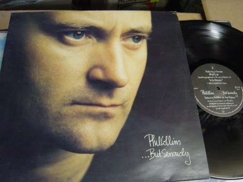 Phil Collins - But Seriously - Virgin V2620 UK 1989