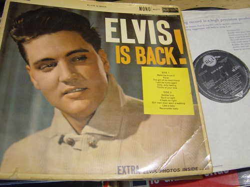 Elvis Presley - Elvis is Back - RCA RD.27171 UK